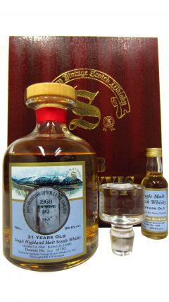 Ben Wyvis (silent) - + Miniature Single Highland Malt Scotch - 1968 31 year old Whisky