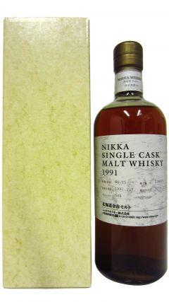 Nikka Yoichi - Single Cask #129374 - 1991 18 year old Whisky
