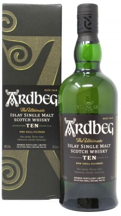 Ardbeg - Islay Single Malt Scotch 10 year old Whisky