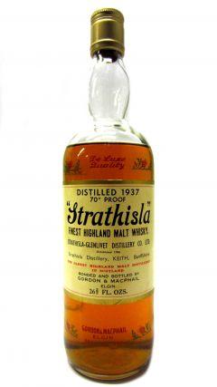 Strathisla - Finest Highland Malt - 1937 Whisky