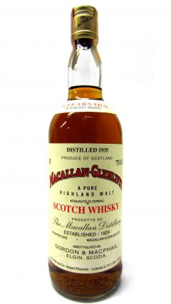 Macallan - Pure Highland Malt - 1935 36 year old Whisky