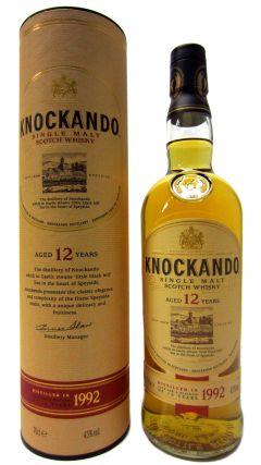 Knockando - Single Malt Scotch - 1992 12 year old Whisky
