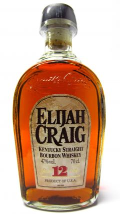 Elijah Craig - Small Batch Kentucky Straight Bourbon (old bottling) 12 year old Whiskey