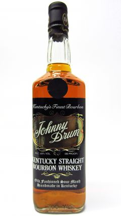 Johnny Drum - Black Label Sour Mash Bourbon 4 year old Whiskey
