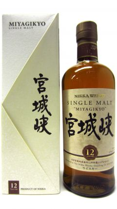 Nikka Miyagikyo - Single Malt 12 year old Whisky