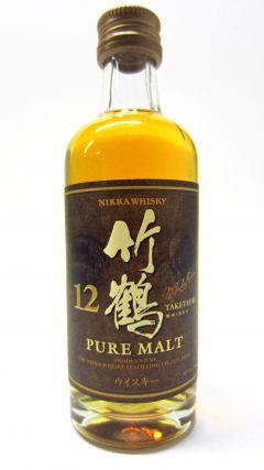 Nikka Taketsuru - Pure Malt Miniature 12 year old Whisky