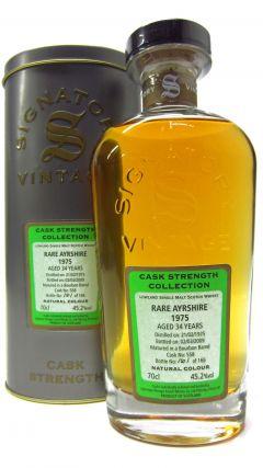 Ladyburn (silent) - Rare Ayrshire - 1975 34 year old Whisky