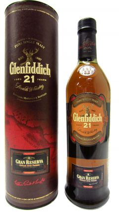 Glenfiddich - Gran Reserva (old style) 21 year old Whisky