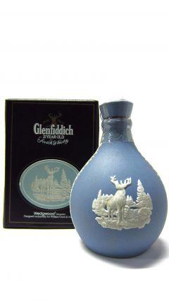 Glenfiddich - Wedgewood Jasper Decanter Miniature #2 - 1970 21 year old Whisky