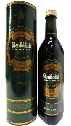 Glenfiddich - Cask Strength (old bottling) 15 year old Whisky