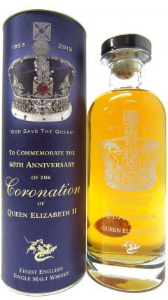 The English Whisky Co. - Queen Elizabeth II Coronation 60th Anniversary Whisky