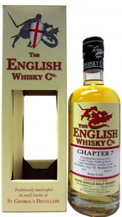 The English Whisky Co. - Chapter 7 Batch #2 - 2009 3 year old Whisky