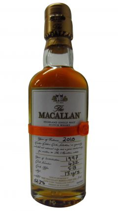 Macallan - 2010 Easter Elchies Miniature - 1997 13 year old Whisky