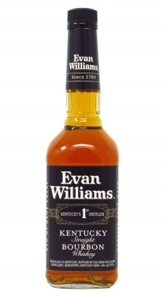 Evan Williams - Black Label Extra Aged Kentucky Straight Whiskey