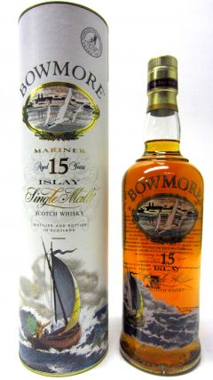 Bowmore - Mariner (screen printed bottle) 15 year old Whisky