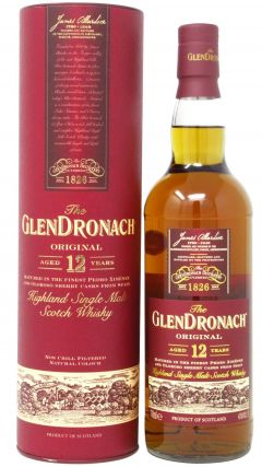 GlenDronach - Original 12 year old Whisky