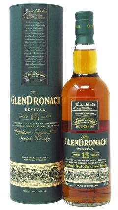 GlenDronach - Revival 15 year old Whisky