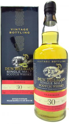 Teaninich - Dun Bheagan Vintage Single Cask - 1982 30 year old Whisky