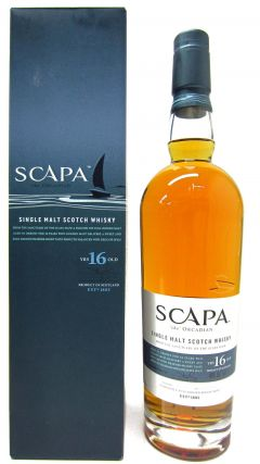 Scapa - The Orcadian Single Malt 16 year old Whisky