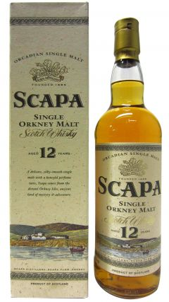 Scapa - The Orcadian Single Malt (old bottling) 12 year old Whisky