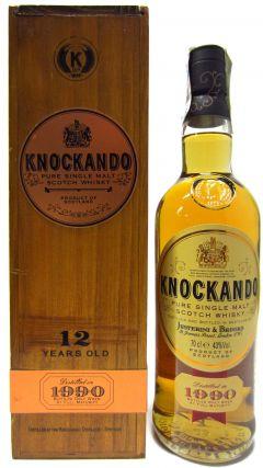 Knockando - Pure Single Malt Scotch - 1990 12 year old Whisky