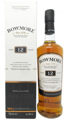 Bowmore - Islay Single Malt 12 year old Whisky
