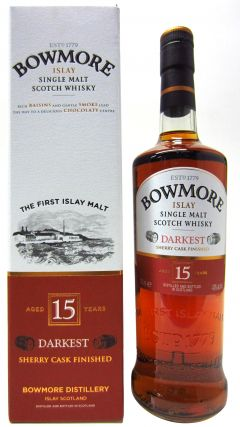 Bowmore - Darkest Sherry Cask 15 year old Whisky