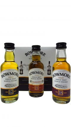 Bowmore - Miniature Distillers Collection Gift Pack Whisky