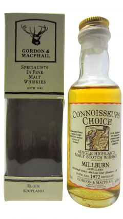 Millburn (silent) - Connoisseurs Choice Miniature - 1972 Whisky