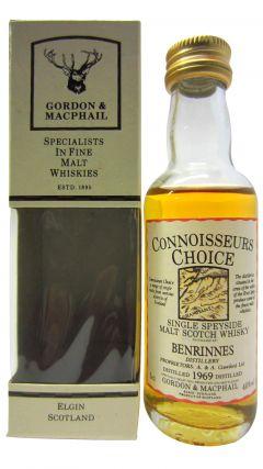 Benrinnes - Connoisseurs Choice Miniature - 1969 Whisky
