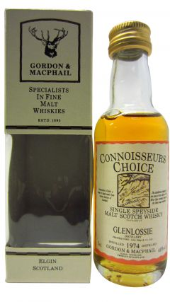 Glenlossie - Connoisseurs Choice Miniature - 1974 Whisky