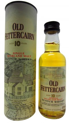 Fettercairn - Single Highland Malt - Miniature 10 year old Whisky