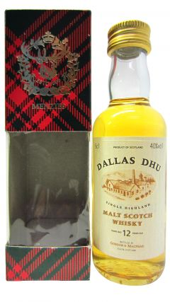 Dallas Dhu (silent) - Single Highland Malt - Miniature 12 year old Whisky