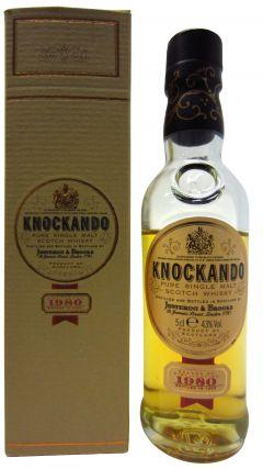 Knockando - Pure Single Malt Miniature - 1980 15 year old Whisky