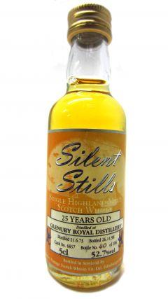 Glenury Royal (silent) - Silent Stills Miniature - 1973 25 year old Whisky