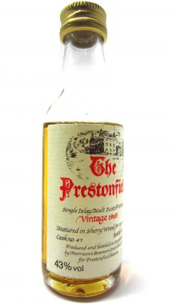 Bowmore - The Prestonfield - 1965 22 year old Whisky