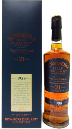 Bowmore - Port Cask Matured - 1988 21 year old Whisky