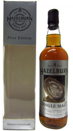Hazelburn - 1st Release Label Design #1 8 year old Whisky