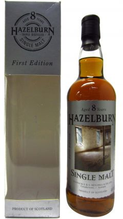 Hazelburn - 1st Release Label Design #2 8 year old Whisky