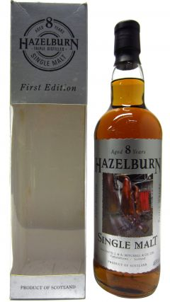 Hazelburn - 1st Release Label Design #3 8 year old Whisky