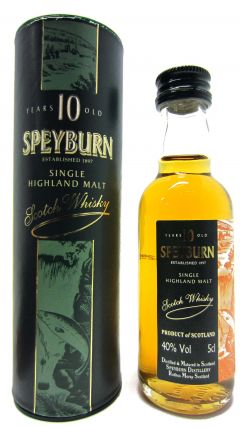 Speyburn - Single Highland Malt - Miniature 10 year old Whisky