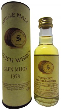 Glen Mhor (silent) - Signatory Vintage - Miniature - 1978 14 year old Whisky