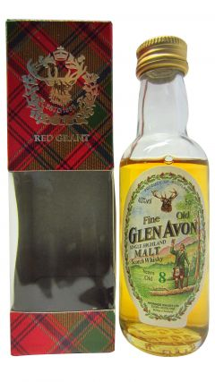 Secret Speyside - Glen Avon Miniature 8 year old Whisky