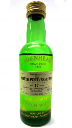 North Port (silent) - Cadenheads Miniature - 1976 17 year old Whisky