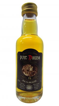 Poit Dhubh - Black Label Miniature 8 year old Whisky
