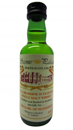 Tullibardine - The Earl of Mansfield Miniature 10 year old Whisky