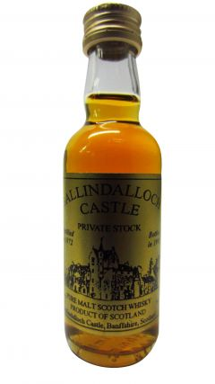 Secret Speyside - Ballindalloch Castle - Miniature - 1972 23 year old Whisky