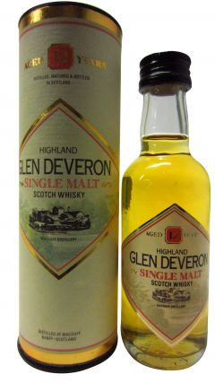 Glen Deveron - Highland Single Malt - Miniature 12 year old Whisky