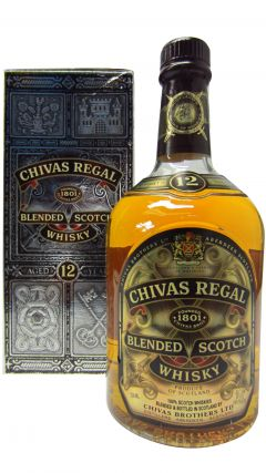 Chivas Regal - Blended Scotch (old style) 12 year old Whisky