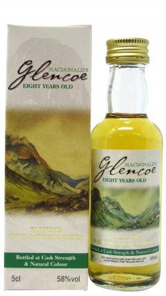 Ben Nevis - Glencoe MacDonald's Miniature 8 year old Whisky